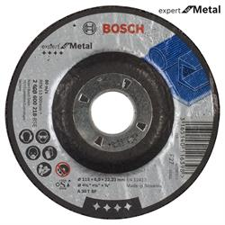 Bosch 115x6.0 mm Expert for Metal Bombeli Taşlama Diski