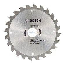Bosch Optiline Eco for Wood 190x30 mm 24 Diş Daire Testere Bıçağı